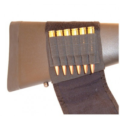 Grovtec Buttstock Cartridge Shell Holder Rifle W/Flap