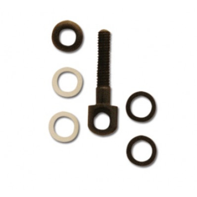 GrovTec Small Parts - 1 Wood Screw Swivel Stud with Spacers