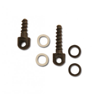"GrovTec Small Parts - Wood Screw Swivel Stud - 1/2"" & 3/4"", Spacers"