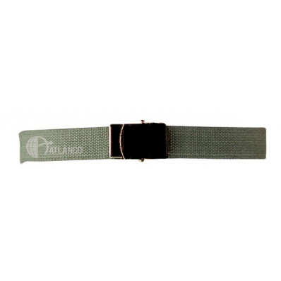 "Atlanta Army Navy - 44"" WEB BELTS w/ CLOSED FACE BLACK BUCKLE - Olive Drab"