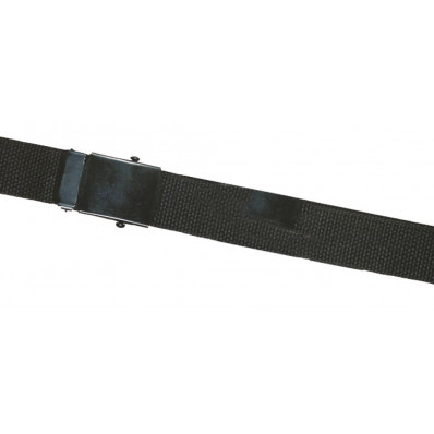 "Atlanta Army Navy - 44"" WEB BELTS w/BLACK CLOSED FACE BUCKLE - BLACK"