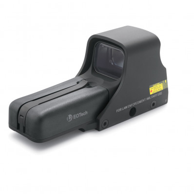 EOTech Model 512 Holographic Weapon Sight - Tactical HWS 65 MOA Circle/1 MOA Dot