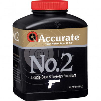 Accurate Powder No. 2 Handgun Powder 5 lbs