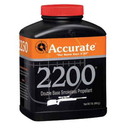 Accurate Powder 2200 Rifle Powder 1 lbs