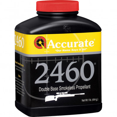 Accurate Powder 2460 Rifle Powder 8 lbs