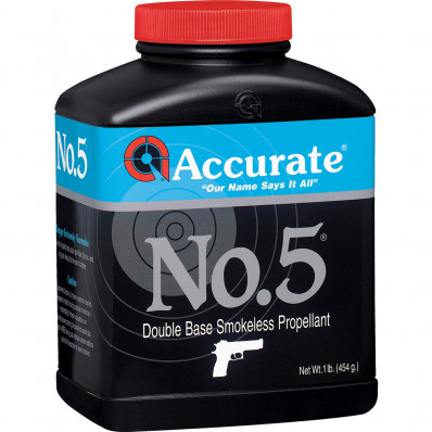 Accurate Powder No. 5 Handgun Powder 8 lbs