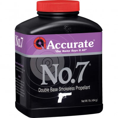 Accurate Powder No. 7 Handgun Powder 8 lbs