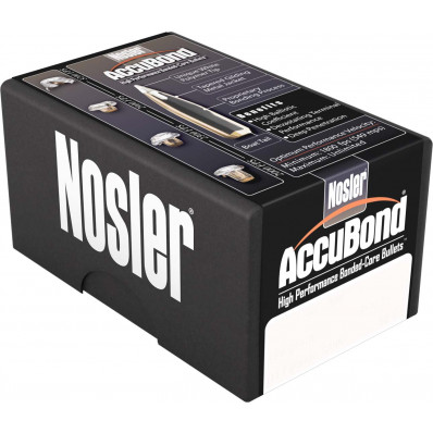 "Nosler AccuBond Bullets 6.8mm .277"" 100 gr SBT-ACB w CANN 50/ct"