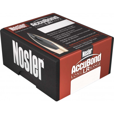 "Nosler AccuBond Long Range Bullets 6.5mm .264"" 129 gr SPT-ACB 100/ct"