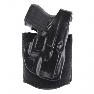 Galco Glock 26-27 Ankle Glove Right Hand Black