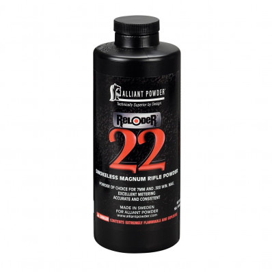 Alliant Reloader 22 Rifle Powder 5 lbs