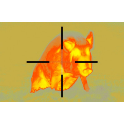 ATN ThOR-240 Thermal Weapon Sight - 1-4x 240x180 px 30 Hz
