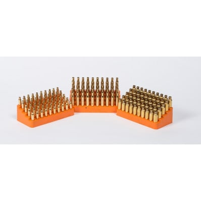 Lyman Bleacher Loading Block for Small Caliber Handguns .445 hole size fits: .380 Auto 9mm Luger .38 Super .357 Sig .38 Special .357 Mag .40 S&W 10mm Auto
