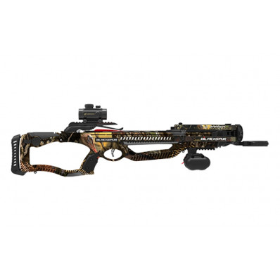 Barnett Blackspur Crossbow Package with Premium Red Dot Sight - HD Turkey Graphic / HD Camo