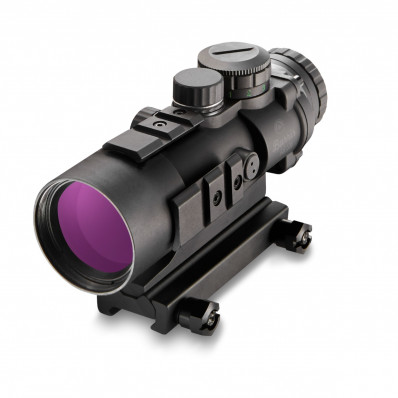 urris AR-536 Prism Sight with Picatinny Mount - 5x 36mm 20' FOV Ballistic CQ 5.56 Reticle Matte