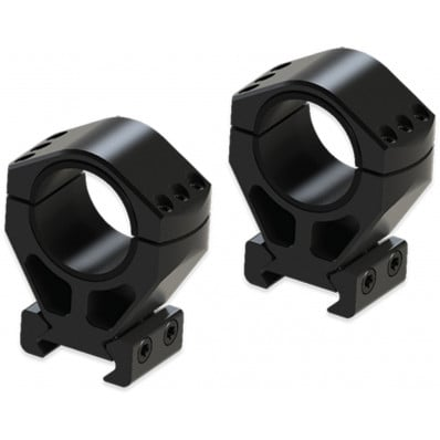 """Burris Steel XTR Signature Scope Ring Set with Pos-Align Offset Inserts 34mm 1.50"""" Height"""