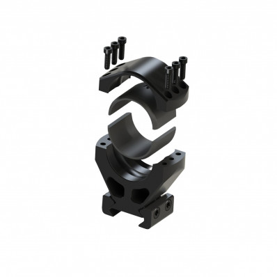 Burris XTR Signature Scope Rings with Pos-Align Offset Inserts 30mm 1.50 Height Pair - Matte