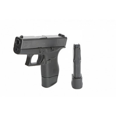 TangoDown Vickers Tactical +2 Magazine Extension for Glock 43 VTMFP-006 43