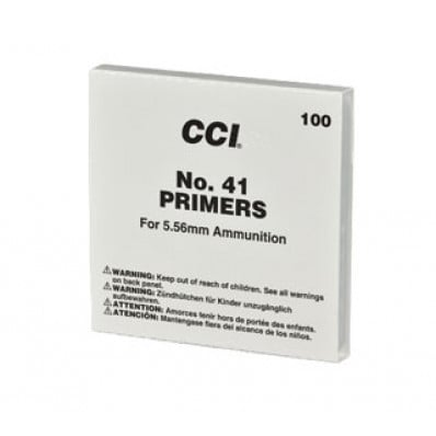 CCI Standard Primers #41 5.56mm Military