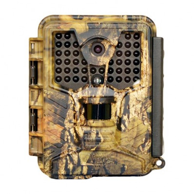 """Covert Scouting Cameras ICE Audio/Video Trail Camera With High Power Infrared IR 1"""" Color Viewer - 12MP"""