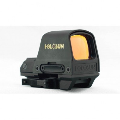 Holosun Reflex Red Dot Sight HS510C Classic - Circle Dot/Solar Panel/QD Mount