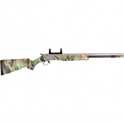 "CVA Wolf Muzzleloader .50 cal  24"" SS Barrel with DuraSight Dead-On Scope Mount - Realtree Hardwoods Green HD"