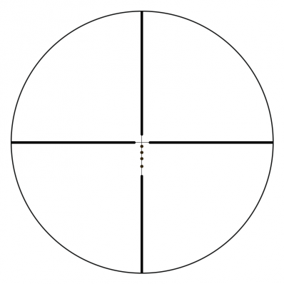 Drop Zone-223 BDC Reticle