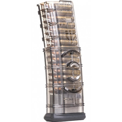 lite Tactical Systems AR-15 Magazine with Coupler - Smoke 30/rd