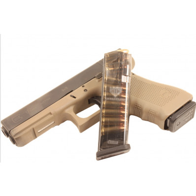 Elite Tactical Systems For Glock 17 Magazine - 9mm 17-round Fits Glock 17 19 26 34