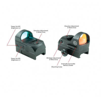 Crimson Trace Compact Reflex Sight 3.5MOA