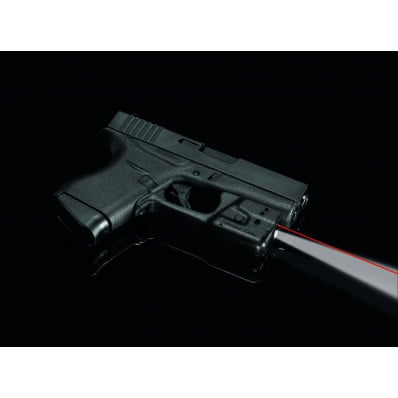 Crimson Trace Laserguard Pro Red Laser Sight & Tactical Light for GLOCK 42 & 43