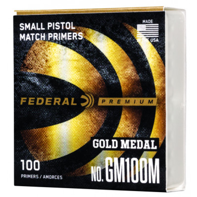Federal Gold Medal Small Pistol Primer 100/ct
