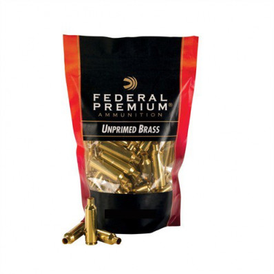 Federal Premium Unprimed Brass Rifle Cartridge Cases 100/ct .223 Rem