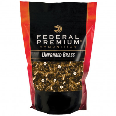 Federal Premium Unprimed Brass Handgun Cartridge Cases 100/ct .45 ACP