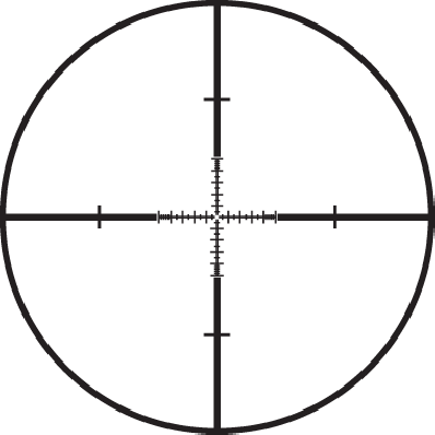 Front Focal TMR Reticle
