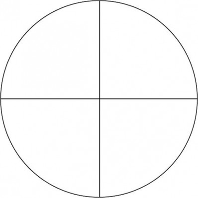 Fine Crosshair Reticle
