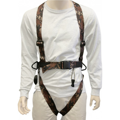 Summit Seat-O-the-Pants Snap Harness with D Rings - Medium