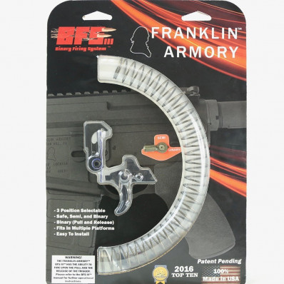 Franklin Armory BFSIII AR-C1 Binary Firing System for AR platform - Curved Trigger