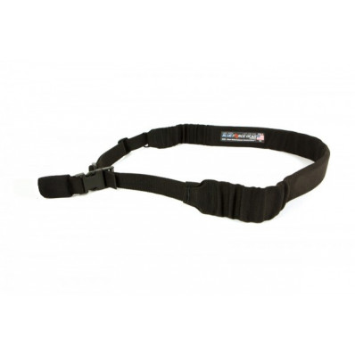 Blue Force Gear 1-Point Padded Bungee Sling with HK Style Adapter, Black