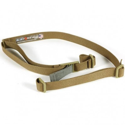 Blue Force Gear Vickers 2-Point Combat Sling with Acetal Adjuster, Coyote Brown