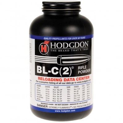 Hodgdon BLC-2 Spherical Rifle Powder 8 lbs