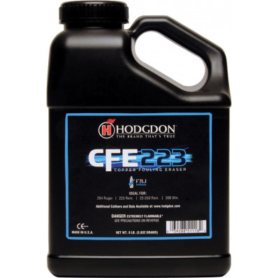 Hodgdon CFE 223 Spherical Rifle Powder 8 lbs