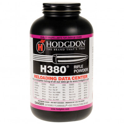 Hodgdon H380 Spherical Rifle Powder 1 lbs