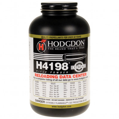 Hodgdon Extreme H4198 Rifle Powder 1 lbs
