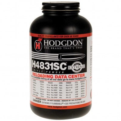 Hodgdon Extreme H4831 Short Cut Rifle Powder 1 lbs
