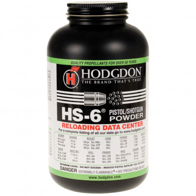 Hodgdon HS-6 Spherical Shotshell & Handgun Powder 8 lbs