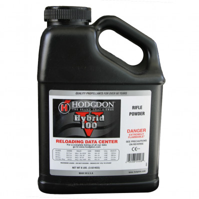 Hodgdon Hybrid 100V Spherical Rifle Powder 8 lbs