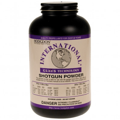 Hodgdon International Clays Hodgdon Clays Shotshell & Handgun Powder 14 oz