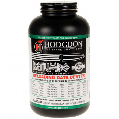 Hodgdon Extreme Retumbo Rifle Powder 1 lbs