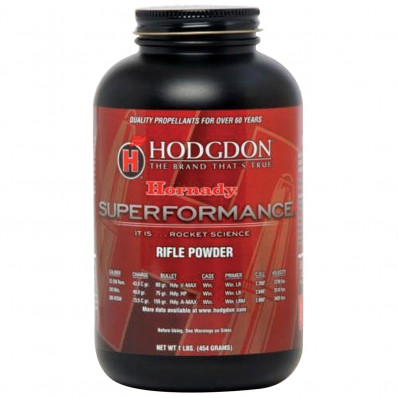 Hodgdon Superformance Spherical Rifle Powder 8 lbs